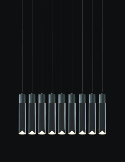 Press kit | 1615-01 - Press release | Canadian Lighting Company Archilume Unveils New LED Chandeliers at  ICFF, May 16-19, 2015 - Archilume - Lighting Design - Archilume P9 Light<br> - Photo credit: Archilume