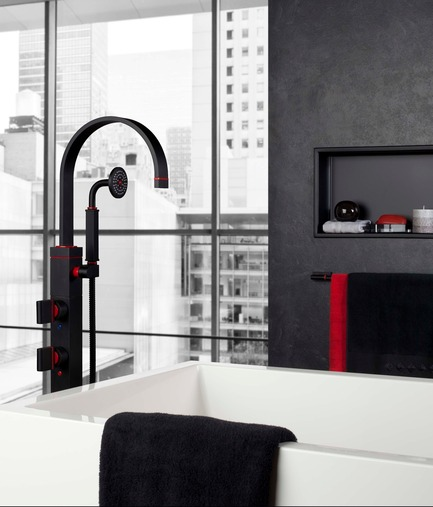 Press kit | 1621-02 - Press release | Second episode of Batimag! - Batimat - Residential Interior Design - Photo credit: The Rubinet Faucet Company