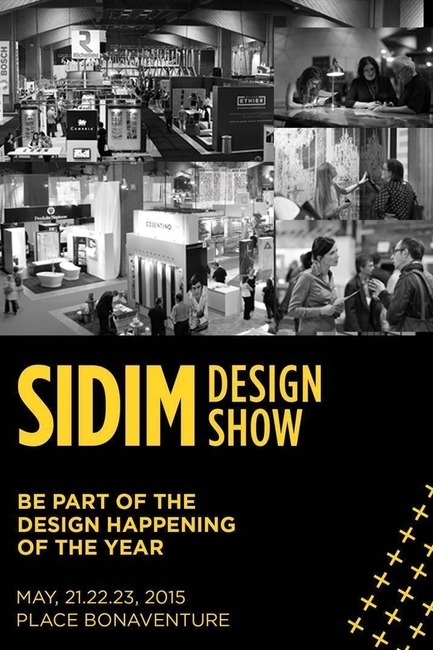 Press kit | 673-11 - Press release | DESIGN SHOW: Seminars and VIP Evening - Agence PID - Event + Exhibition - Photo credit:   Agence PID SALON DU DESIGN 2015