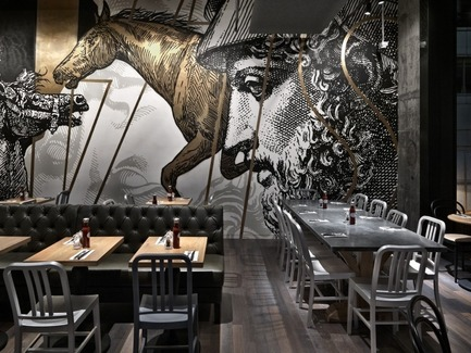 Press kit | 1124-05 - Press release | World Interiors News Awards 2015 jury announced - World Interiors News - Commercial Interior Design - BEEF & LIBERTY, Wanchai, Hong Kong by spinoff co., ltd. - Photo credit: spinoff co., ltd.