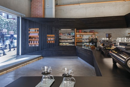Press kit | 1187-03 - Press release | Announcing AIA San Francisco 2015 Design Awards winners - American Institute of Architects, San Francisco Chapter (AIA SF) - Competition - Coffee Bar Kearny by jones | haydu - Photo credit: Art Gray