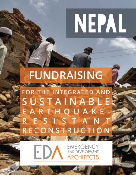 Fundraising for the integrated and sustainable earthquake-resistant reconstruction of Nepal