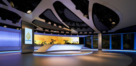 Press kit | 1109-07 - Press release | Veech x Veech designs one of the world's most advanced production studios for Al Jazeera in The Shard, London - Veech x Veech - Commercial Architecture - Al Jazeera in The Shard, London - Photo credit: ©Hufton + Crow
