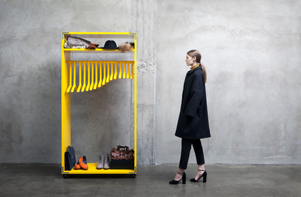 Press kit | 990-02 - Press release | KAYIWA Launches the Much-Anticipated3D Printed DINO Clothes Rack - KAYIWA - Product -   DINO Module<br>   - Photo credit:  Image courtesy of KAYIWA
