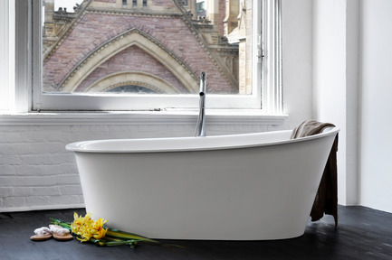 Press kit | 1780-01 - Press release | WETSTYLE honored with Green GOOD DESIGN Award - WETSTYLE - Competition - Tulip Tub  - Photo credit: WETSTYLE