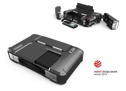 Press kit | 1738-01 - Press release | Klas Telecom's Voyager Executive Communications Kit (ECK) wins Red Dot Product Design Award - Klas Telecom - Product - Photo credit: Dolmen Design
