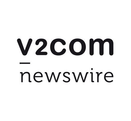 Press kit | 1402-01 - Press release | v2com shows its true colours! - v2com newswire - Event + Exhibition - v2com newswire's logo - Photo credit: v2com newswire