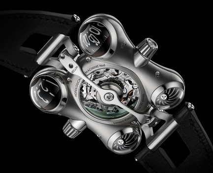 "Press kit | 1777-01 - Press release | HM6 'Space Pirate' wins the Red Dot: ""Best of the Best"" prize - MB&F - Product - HM6_Back - Photo credit: Maarten van der Ende<br>"