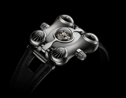 "Press kit | 1777-01 - Press release | HM6 'Space Pirate' wins the Red Dot: ""Best of the Best"" prize - MB&F - Product - HM6 Rear<br> - Photo credit: Maarten van der Ende<br>"