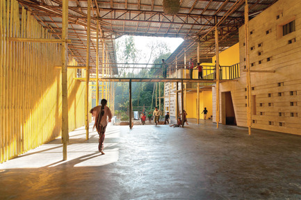 Press kit | 809-13 - Press release | Azure announces the winners of the fifth annual AZ Awards - Azure Magazine - Competition - Commercial   ⁄  Institutional Architecture Under 1,000 Square Metres:  SchilderScholte Architecten: Pani Community Centre, Rajarhat, Bangladesh - Photo credit: n/a