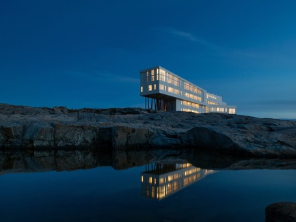 Press kit | 809-13 - Press release | Azure announces the winners of the fifth annual AZ Awards - Azure Magazine - Competition - Saunders Architecture: Fogo Island Inn, Newfoundland, Canada - Photo credit: n/a