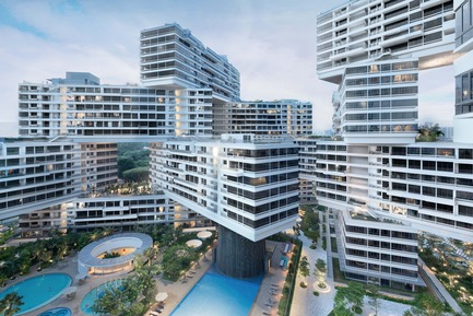 Press kit | 661-28 - Press release | World Architecture Festival Awards: 2015 WAF and INSIDE Shortlists announced - World Architecture Festival (WAF) - Commercial Architecture - The Interlace by OMA/Buro Ole Scheeren - Completed Building, Housing category  - Photo credit: OMA/Buro Ole Scheeren