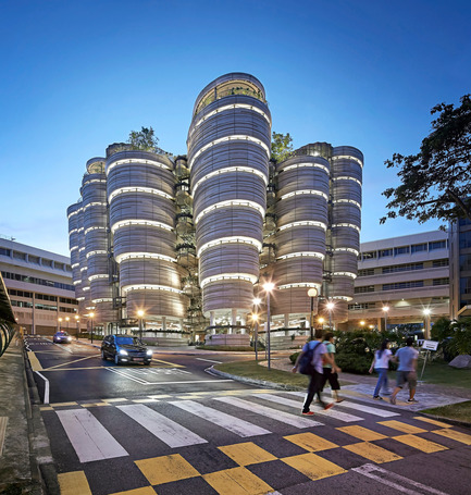 Press kit | 661-28 - Press release | World Architecture Festival Awards: 2015 WAF and INSIDE Shortlists announced - World Architecture Festival (WAF) - Commercial Architecture - Nanyang Technological University by Heatherwick Studio - Completed Buildings, Higher Education category  - Photo credit: Heatherwick Studio