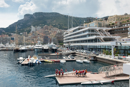 Press kit | 661-28 - Press release | World Architecture Festival Awards: 2015 WAF and INSIDE Shortlists announced - World Architecture Festival (WAF) - Commercial Architecture - Yacht Club de Monaco by Foster + Partners - Completed Buildings, Hotel & Leisure category  - Photo credit: Foster + Partners