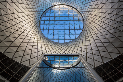 Press kit | 661-28 - Press release | World Architecture Festival Awards: 2015 WAF and INSIDE Shortlists announced - World Architecture Festival (WAF) - Commercial Architecture - Fulton Center by Grimshaw - Completed Buildings, Transport category  - Photo credit: Grimshaw