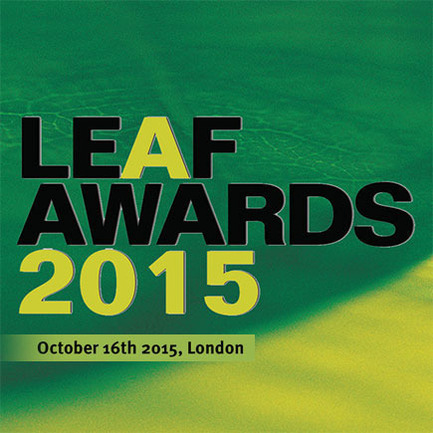 Press kit | 1028-05 - Press release | LEAF Awards 2015 announces official shortlist - Arena International Group - Event + Exhibition - Photo credit:  LEAF
