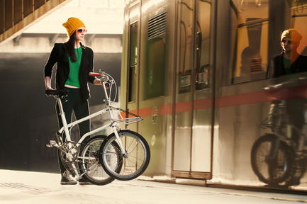 Press kit | 1833-01 - Press release | The first urban compact bike - VELLO bike - Industrial Design -  VELLO Urbano - Photo credit: Leonardo Ramirez Castillo