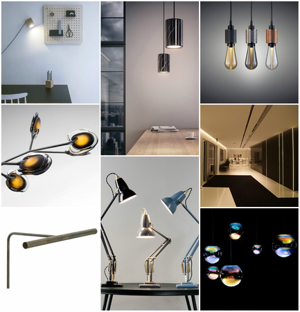 Press kit | 1124-06 - Press release | Shortlist announced for the World Interiors News Awards 2015 - World Interiors News - Commercial Interior Design - World Interiors News Awards 2015 <br>Lighting Products Category Shortlist<br><br>Top row, left to right: <br>Cubo by Kukka<br>Solid by Terence Woodgate<br>Buster Bulb by Buster + Punch<br><br>Middle row, left to right: <br>16 by Bocci Design & Manufacturing Inc. <br>Laser Blade System 53 by iGuzzini illuminazione <br><br>Bottom row, left to right: <br>TM Slim Light by TM Lighting<br>Original1227™ Brass Collection by Angelpoise<br>Iris by NEO/CRAFT - Photo credit: Various