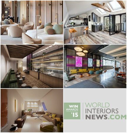 Press kit | 1124-06 - Press release | Shortlist announced for the World Interiors News Awards 2015 - World Interiors News - Commercial Interior Design - World Interiors News Awards 2015 <br>Residential Development Category Shortlist<br><br>Top row, left to right: <br>   Lumiere Residences by    Tsao & McKown   Architects<br>   Gatti House by    CBRE<br><br>Middle row, left to right: <br>   Barts Square by    Johnson Naylor LLP<br>   AVA 55 Ninth by    Solomon Cordwell   Buenz<br><br>Bottom row:<br>   The Mellier by    Studio   Mackereth Ltd<br> - Photo credit: Various