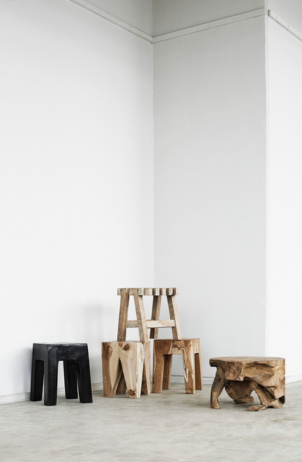 Press kit | 1834-04 - Press release | Downtown Design announces final exhibitor list and showcases new talent alongside established - Downtown Design - Event + Exhibition - Muubs<br>Wooden Stools<br> - Photo credit: Muubs
