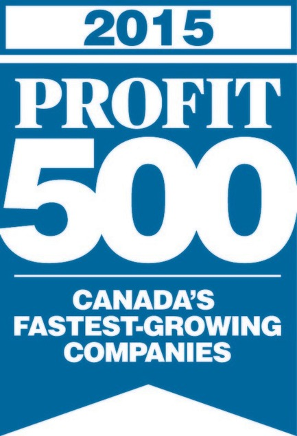 Press kit | 1152-04 - Press release | LumiGroup ranks No. 370 on the 2015 PROFIT 500 - LumiGroup - Competition - PROFIT 500 blue logo (english version) - Photo credit: PROFIT 500