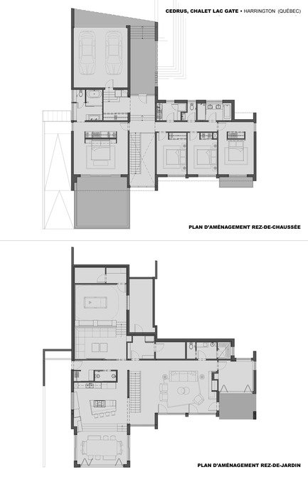 Press kit | 1678-01 - Press release | CEDRUS Residence - BOOM TOWN - Residential Architecture - Floor plans - Photo credit: Boom Town