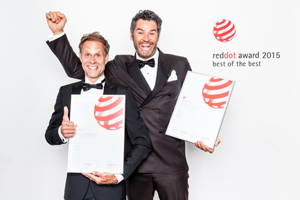 Press kit | 1696-05 - Press release | Designers and manufacturers go after the coveted design prize: The competition for the Red Dot Award kicks off at the end of October - Red Dot Award - Competition - 2015 Milk Design, Red Dot Best of the Best for Joolz Geo - Photo credit: Red Dot