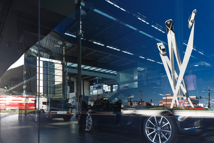 Press kit | 1022-03 - Press release | Porscheplatz Sculpture - Gerry Judah - Art - Photo credit: David Barbour