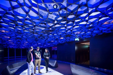 Press kit | 621-22 - Press release | Lightemotion wins three IES-Montréal Lumière 2015 Illumination Awards - Lightemotion - Lighting Design -  Burj Dubai expension mall at the top of the experience  - Photo credit:   GSMPRCT