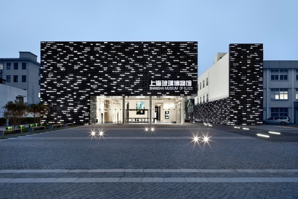Press kit | 1028-06 - Press release | LEAF Awards 2015: winners announced - LEAF International - Competition -  Best Façade Design and Engineering of the Year <br>Logon Architecture<br>Project: Shanghai Museum of Glass<br>  - Photo credit:   Arena International