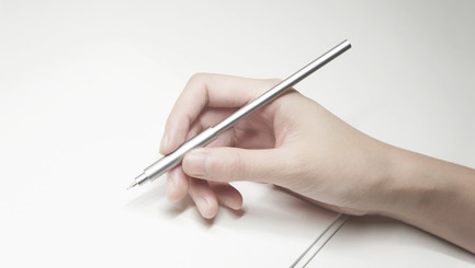 Press kit | 1127-09 - Press release | Pen Uno: The Most Minimal Pen - ENSSO - Industrial Design - Pen Uno<br> - Photo credit: ENSSO