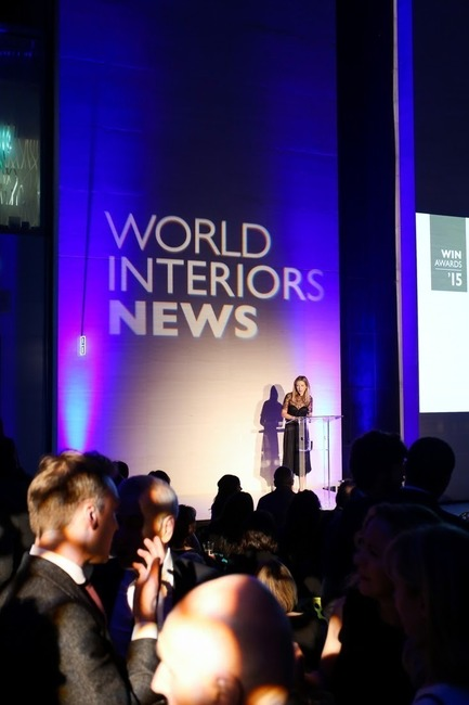 Press kit | 1124-07 - Press release | Winners Announced - World Interiors News - Commercial Interior Design - World Interiors News Awards Ceremony 2015  - Photo credit: Matt Chung / MattChungPhoto.com
