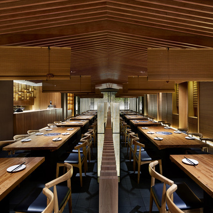 Press kit | 902-05 - Press release | World Design Rankings - A' Design Award and Competition - Event + Exhibition - Tsuruichi Janpanese Restaurant by Lee Hsuheng, Zhao Shuang, Zheng Yanan - Photo credit: Golucci International Design