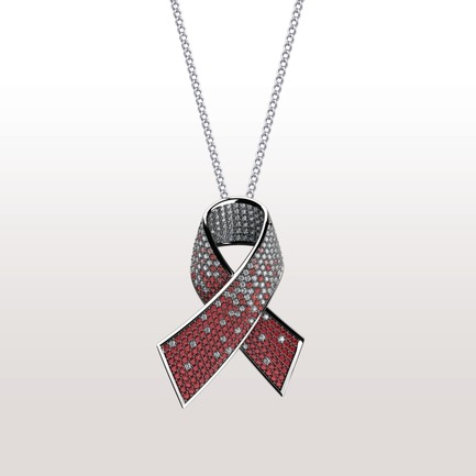 Press kit | 902-06 - Press release | International Call for Design Nominations - A' Design Award and Competition - Competition - Alliance against AIDS Diamond Pendant by Seyed Mohammad Mortazavi - Photo credit: Seyed Mohammad Mortazavi