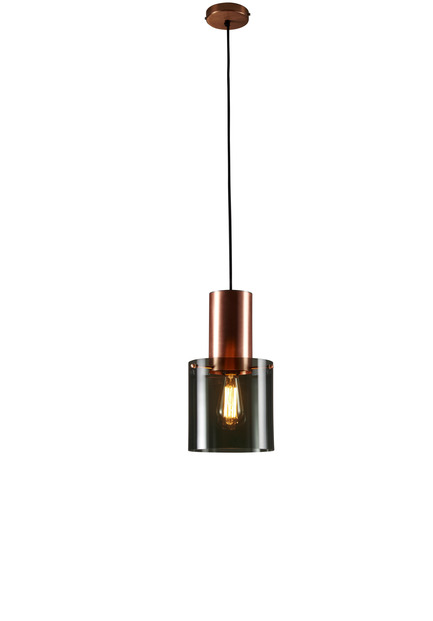 "Press kit | 2023-01 - Press release | British lighting manufacturer Original BTC launches new collections for SS16 - Original BTC - Lighting Design -   Original BTC  Walter size 2 pendant with anthracite glass  <a href=""http://www.originalbtc.com"">www.originalbtc.com</a> +207 351 2130   - Photo credit: Original BTC"