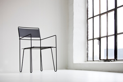 Press kit | 1165-02 - Press release | World premiere for a new Swedish furniture company - Steel by Göhlin - Steel by Göhlin - Product - Chair No 1 - Photo credit: Steel by Göhlin