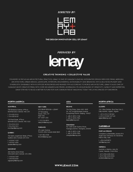 "Press kit | 865-18 - Press release | Lemay Wins Top Honors At The  ""Reimagine A New York City Icon"" Competition - Lemay - Competition - Photo credit: Lemay"