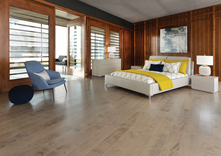Press kit | 1639-04 - Press release | Rio and Havana: hot new colors from Mirage Hardwood Flooring - Mirage Hardwood Floors - Residential Interior Design -  Maple Rio - Admiration Collection<br>  - Photo credit:  Mirage Hardwood Floors