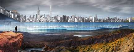 Press kit | 2069-01 - Press release | Winner of 2016 eVolo Skyscraper Competition Reimagines the Future of New York City's Skyline - Jianshi Wu, Yitan Sun - Urban Design - Perspective Rendering - Photo credit:  Jianshi Wu, Yitan Sun