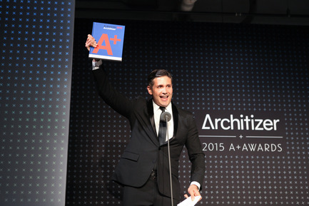 Press kit | 1071-03 - Press release | Architizer Announces 2016 A+Awards Winners - Architizer - Competition - 2015 Architizer A+Awards Gala, Marc Kushner<br> - Photo credit: Jenna Bascon Photography<br>