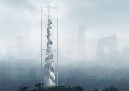 Press kit | 1127-05 - Press release | Winners 2016 Skyscraper Competition - eVolo Magazine - Competition - Air-Stalagmite - Photo credit: Changsoo Park, Sizhe Chen