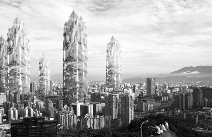Press kit | 1127-05 - Press release | Winners 2016 Skyscraper Competition - eVolo Magazine - Competition - Taiwan Babel Tower - Photo credit: Lu Te Hsin