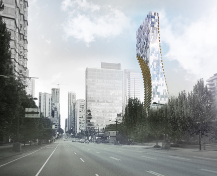 Press kit | 2051-02 - Press release | Alberni by Kuma: Kengo Kuma Reveals Details for His First North American, Large-Scale Tower in Vancouver, British Columbia - Westbank - Residential Architecture - Alberni by Kuma  - Photo credit: KKAA