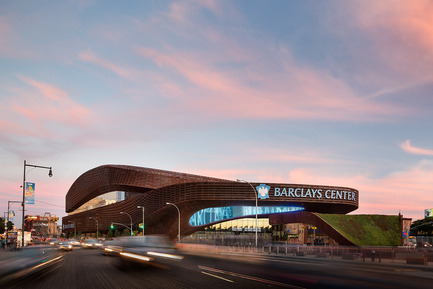 Press kit | 1071-02 - Press release | Second annual Architizer A+ Awards - Architizer - Competition - Barclays Center, SHoP Architects