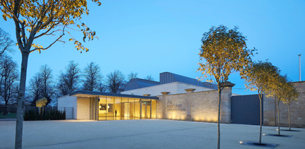 Press kit | 1164-01 - Press release | The Harley Gallery - Hugh Broughton Architects - Art - The Harley Gallery, Welbeck Estate by Hugh Broughton Architects  - Photo credit: Hufton+Crow