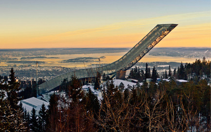 Press kit | 1071-02 - Press release | Second annual Architizer A+ Awards - Architizer - Competition - Holmenkollen Ski Jump, JDS Architects