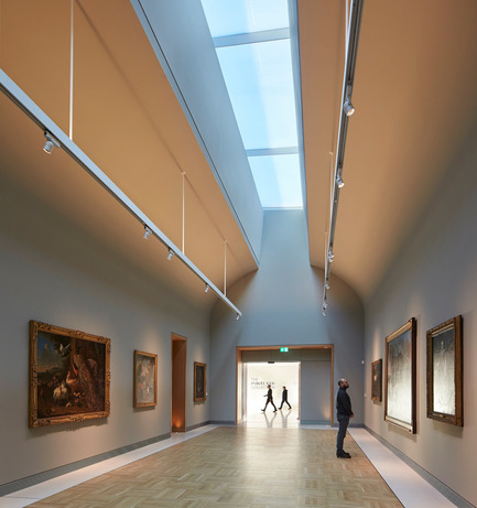Press kit | 1164-01 - Press release | The Harley Gallery - Hugh Broughton Architects - Art - The Long Gallery, The Harley Gallery, Welbeck Estate  - Photo credit: Hufton+Crow