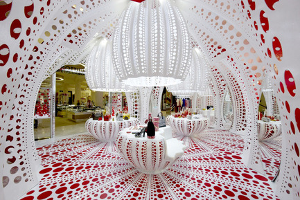 Press kit | 1071-02 - Press release | Second annual Architizer A+ Awards - Architizer - Competition - Louis Vuitton, Yayoi Kusama