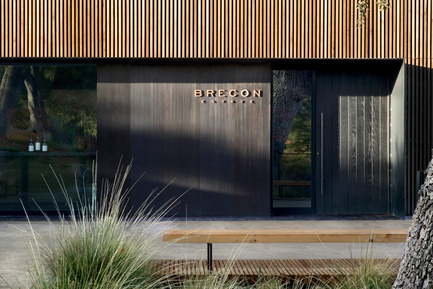 Press kit | 2112-01 - Press release | Brecon Estate Winery - Aidlin Darling Design - Commercial Architecture - Front Facade - Photo credit: Adam Rouse