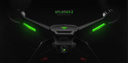 Press kit | 2109-01 - Press release | XIRO Xplorer Unmanned Aerial Vehicle Won Three Red Dot Design Awards - Shenzhen   zero-tech UAV Limited - Product -  XIRO Xplorer Unmanned Aerial Vehicle  - Photo credit:  XIRO Drones